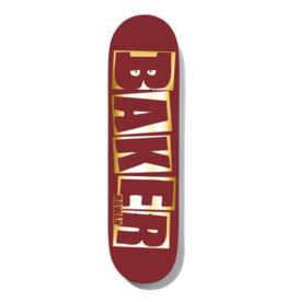 Baker Baker Rowan Brand Name Red Foil 8.38