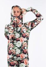 EIVY Eivy Icecold Zip Hood Top Autumn Bloom