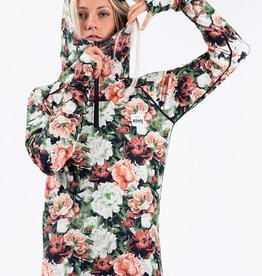 EIVY Eivy Icecold Zip Hood Top Autumn Bloom