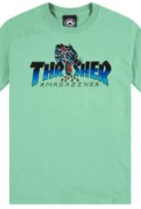 Thrasher THRASHER LEOPARD MAG TEE