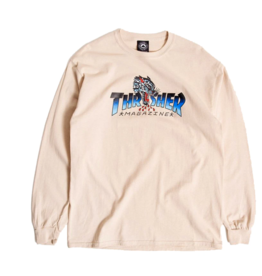 Thrasher THRASHER LEOPARD MAG L/S TEE