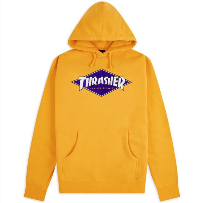 Thrasher THRASHER DIAMON LOGO HOOD