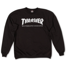 Thrasher THRASHER MAG LOGO CREWNECK BLACK