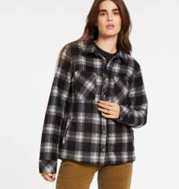 Volcom VOLCOM PLAID DREAMS JKT SAND