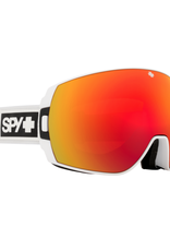 Spy SPY Legacy Matte White-HD Plus Bronze w/ Red Spectra Mirror HD Plus LL Yellow w/Green Spectra Mirror