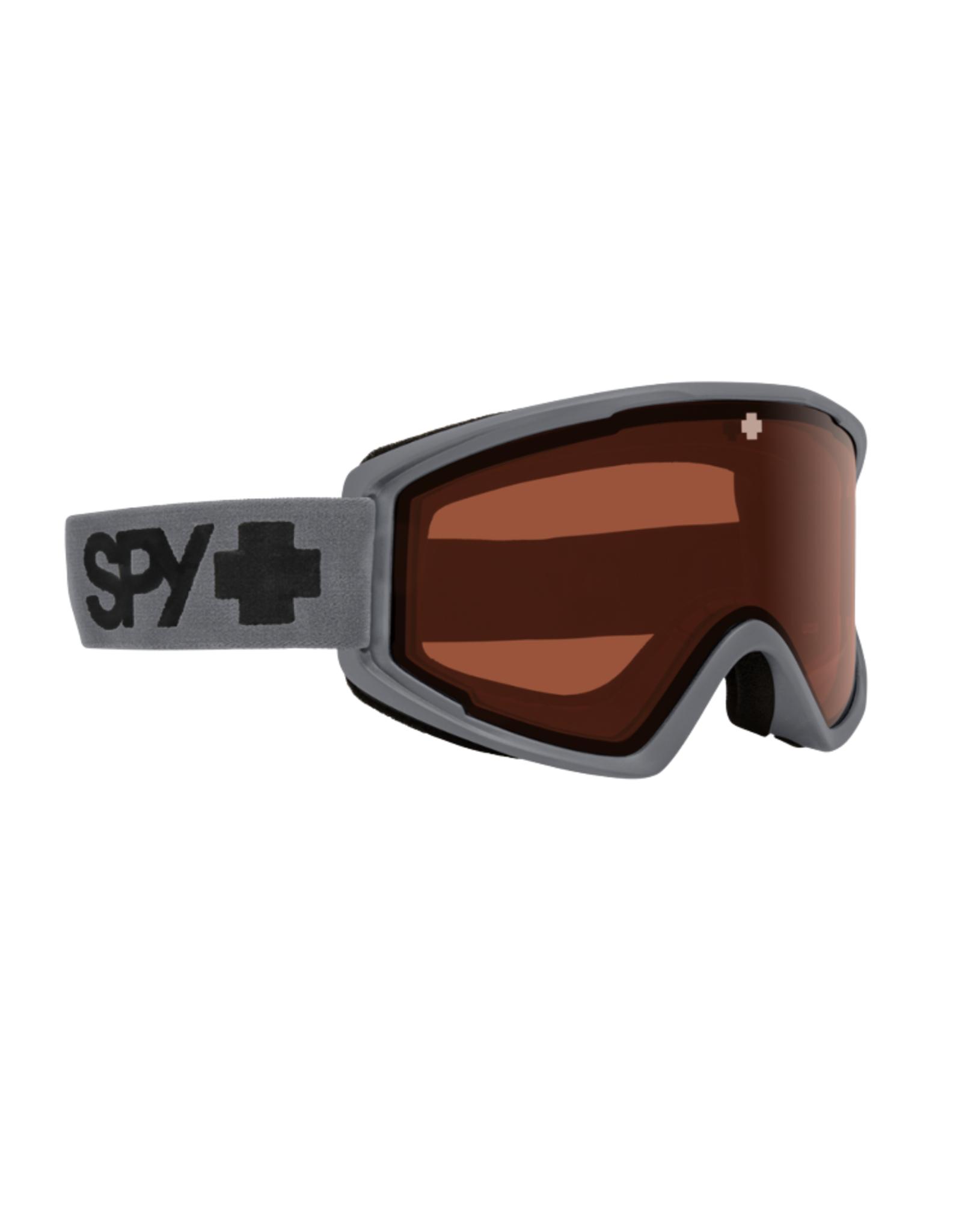 Spy SPY Crusher Elite Matte Gray - HD LL Persimmon