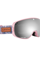 Spy SPY BRAVO NATIVE NATURE PINK HAPPY GREY GREEN w/SILVER SPECTRA PLUS HAPPY YELLOW