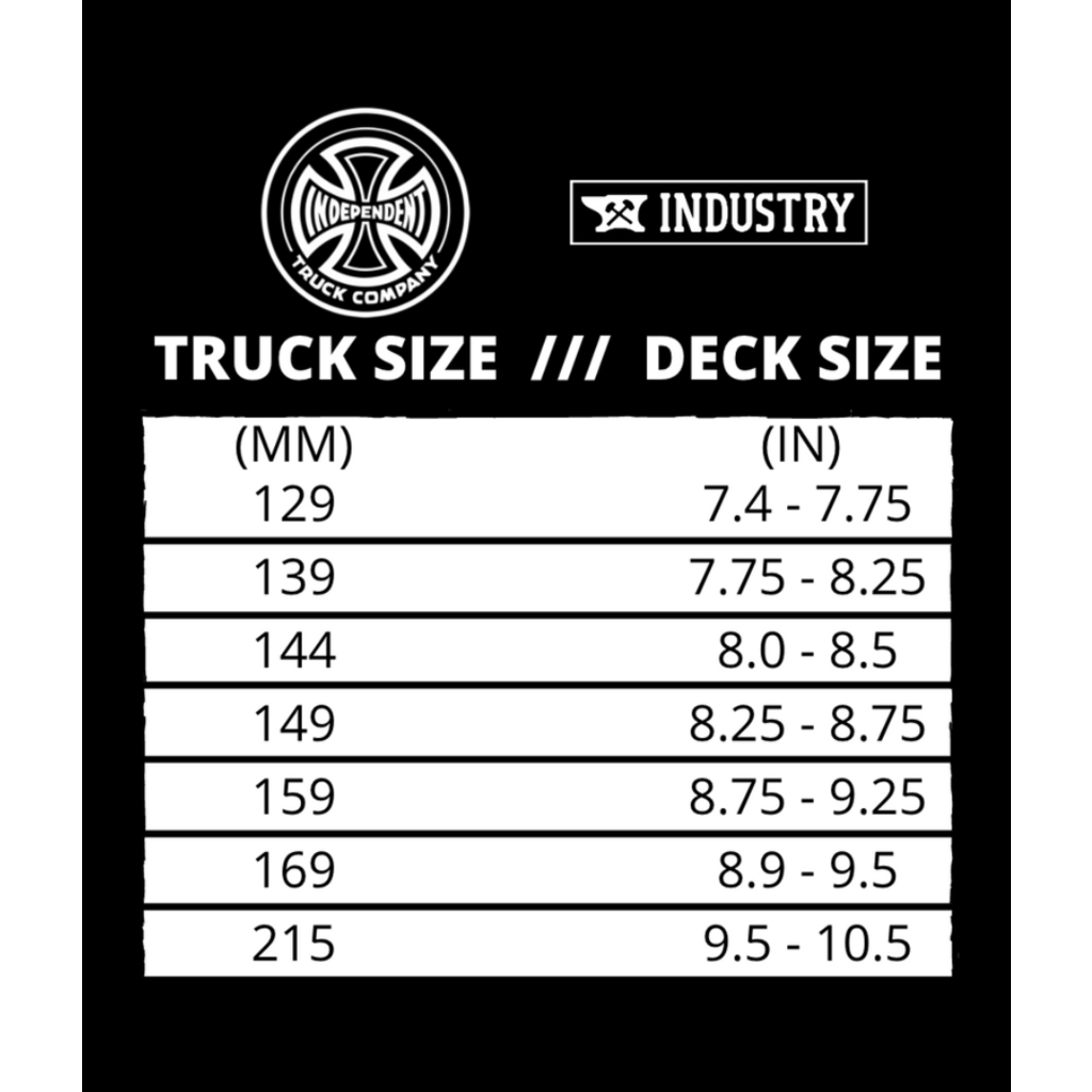 Independent INDEPENDENT STG11 FORGED HOLLOW POLISHED TRUCKS