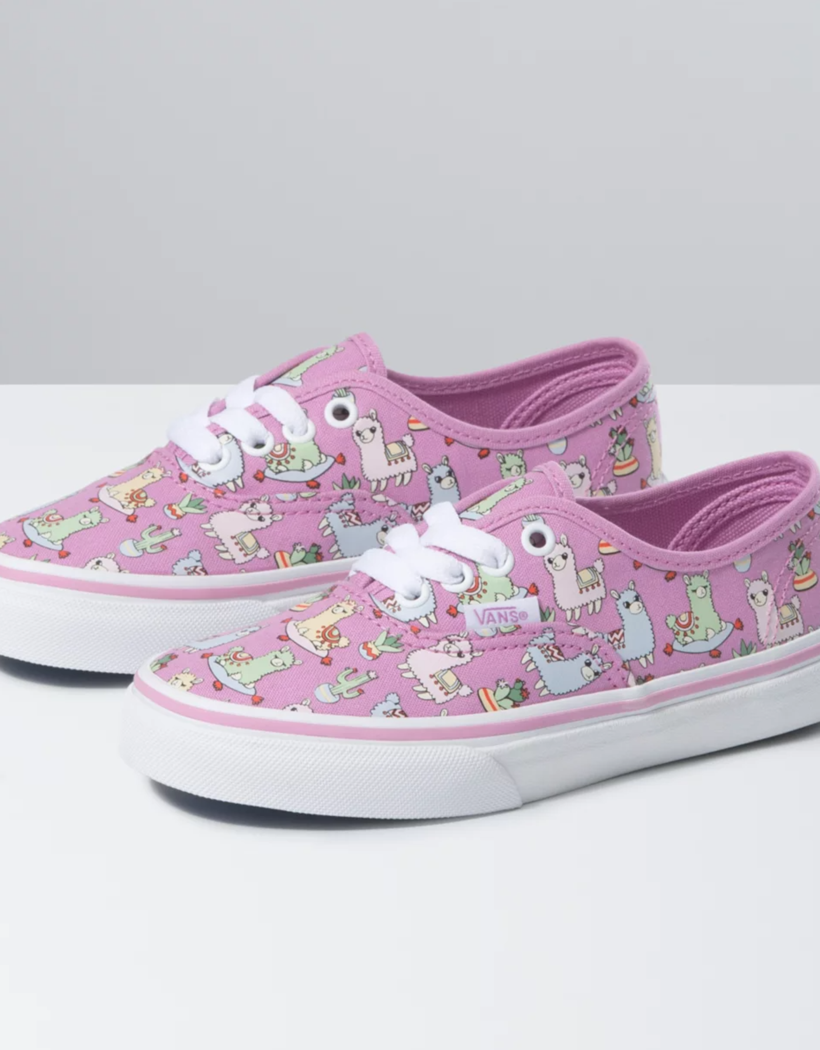 Vans Vans K AUTHENTIC (LLAMAS) ORCHID/TRUE WHITE