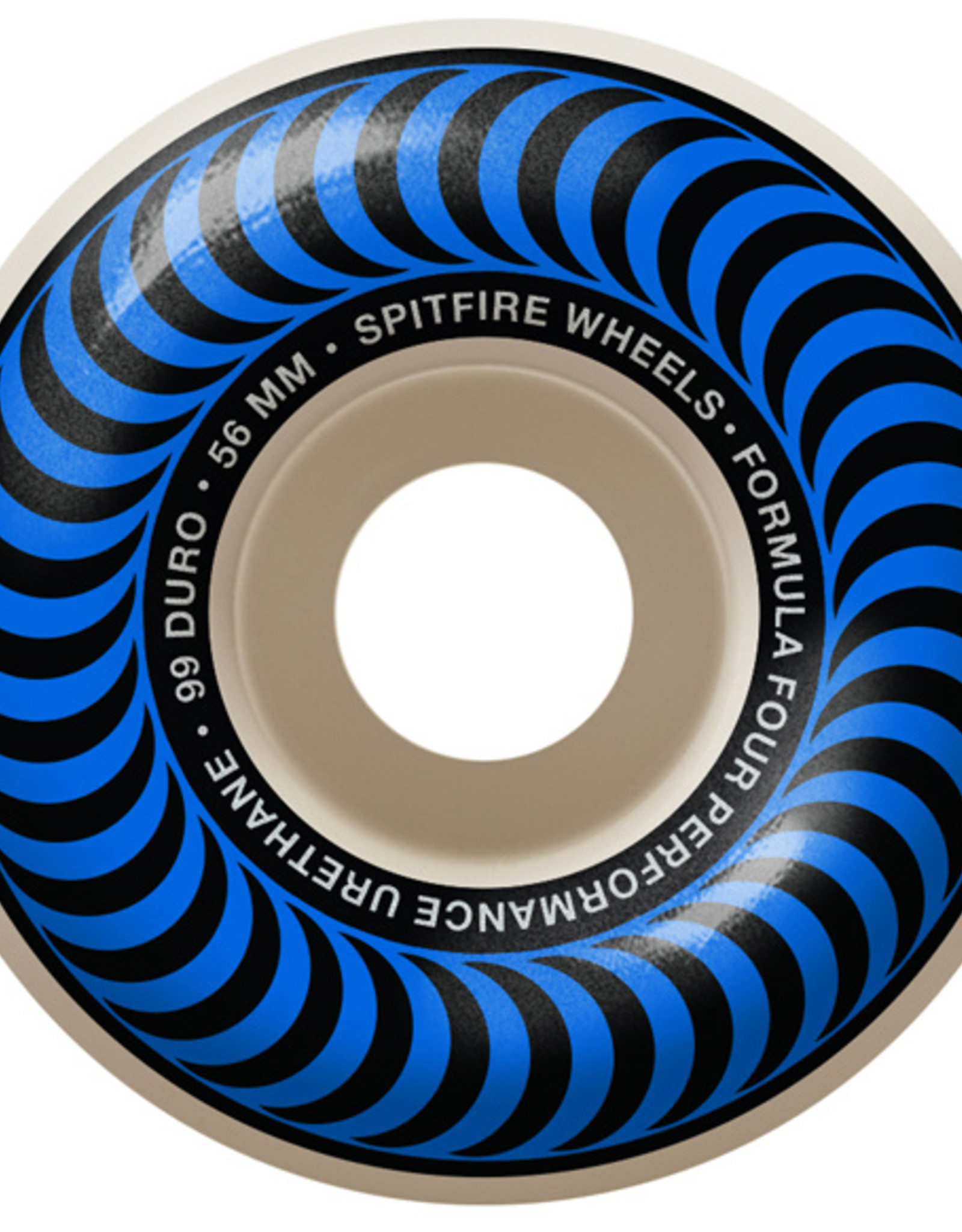 Spitfire SPITFIRE FORMULA FOUR CLASSIC 99D 56MM BLUE SWIRL
