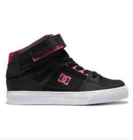 DC DC PURE HT YOUTH ELASTIC BLACK/PINK
