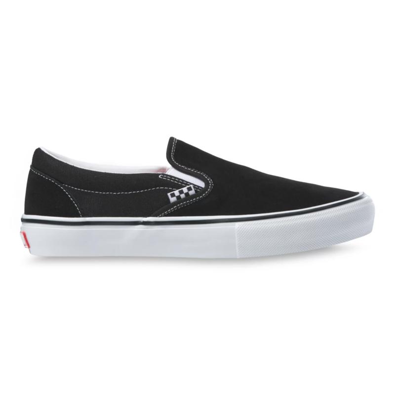Vans VANS SKATE SLIP-ON BLACK/WHITE