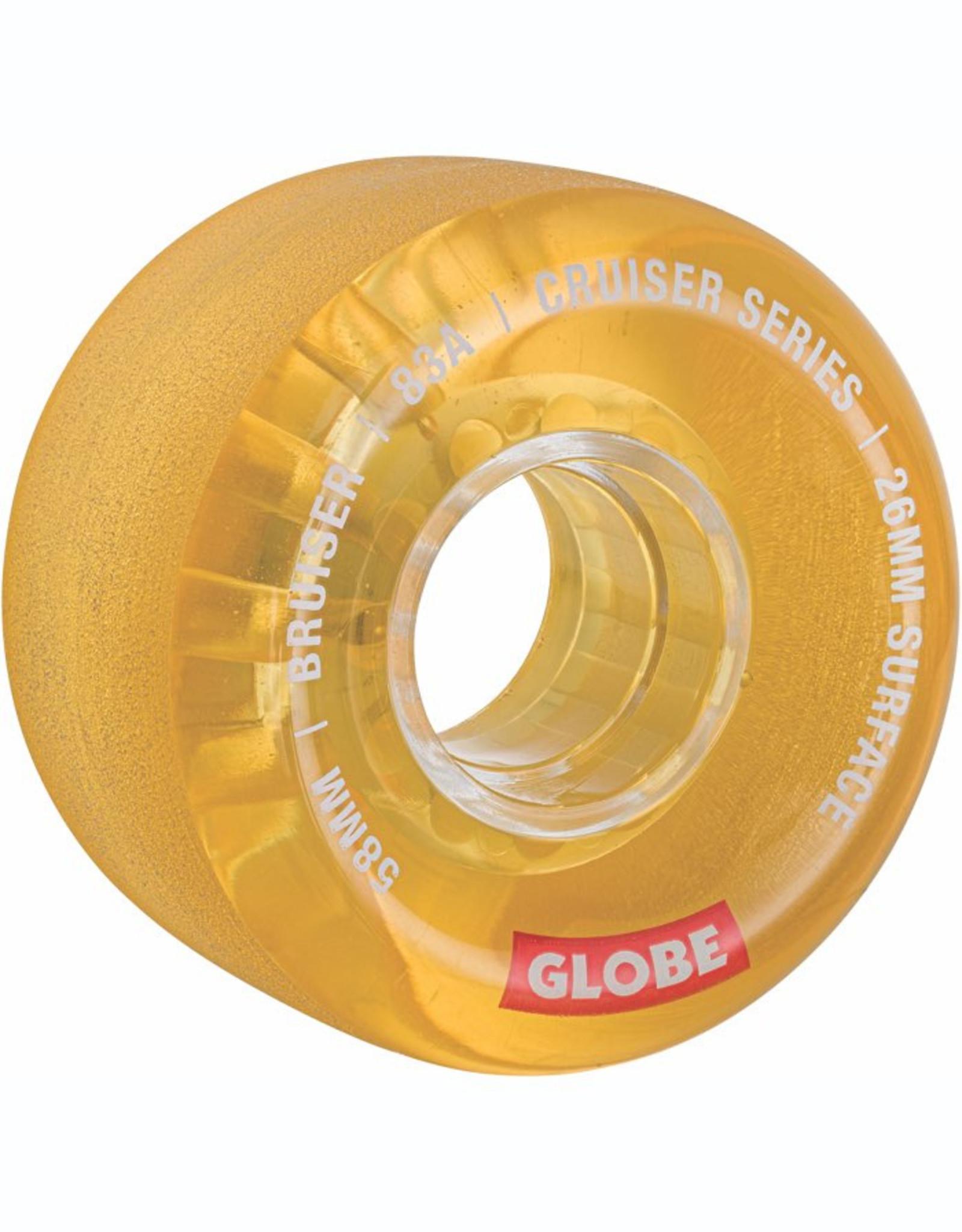 Globe GLOBE BRUISER CLEAR HONEY 58MM