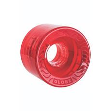 Globe GLOBE RETRO FLEX CRUISER WHEEL CLEAR RED 58MM