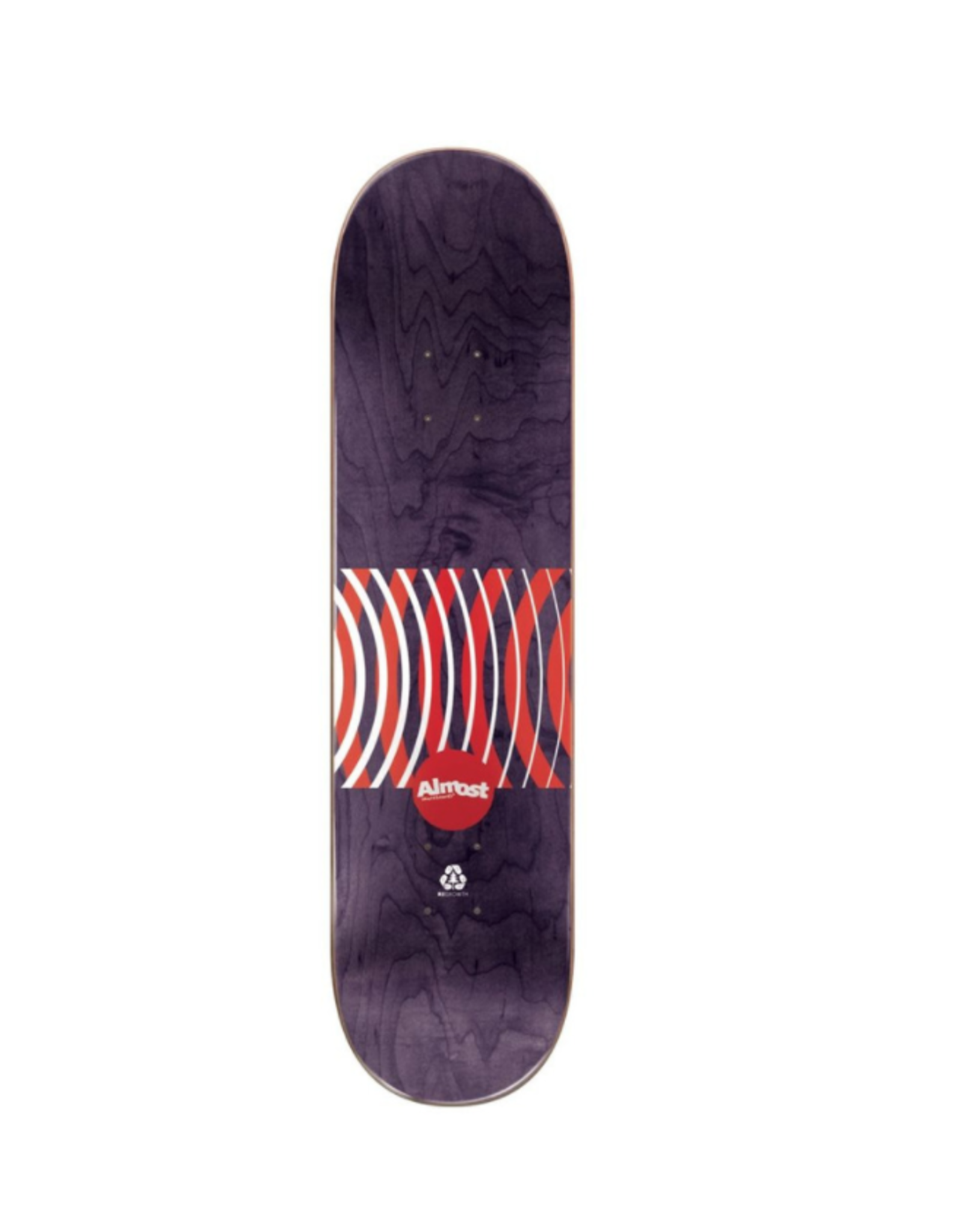 ALMOST ALMOST YOUNESS RED RINGS IMPACT DECK 8.25