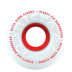 Ricta RICTA WHEELS CLOUDS RED 86A 55MM