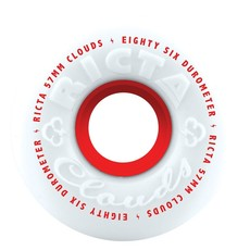 Ricta RICTA WHEELS CLOUDS RED 86A 57MM