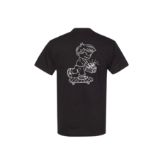 Industry INDUSTRY X BOS LIMITED EDITION COLLAB POCKET  TEE BLACK