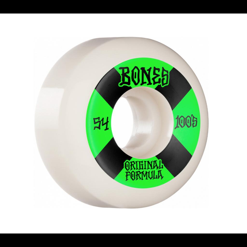 BONES BONES PRICE POINT WHEELS V5 SIDECUTS 100'S WHITE 54MM