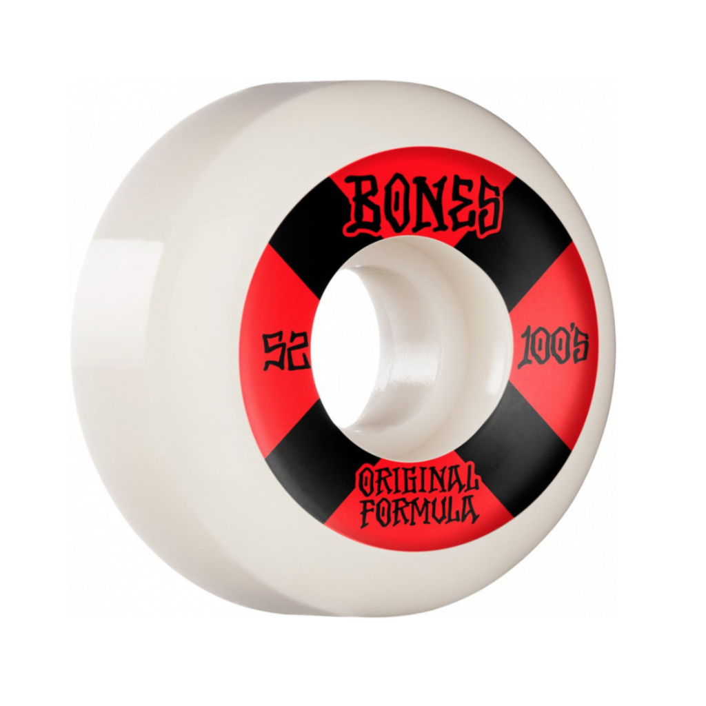 BONES BONES PRICE POINT WHEELS V5 SIDECUTS 100'S WHITE 52MM