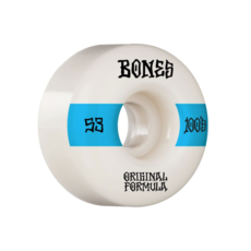 BONES BONES PRICE POINT WHEELS V4 WIDES 100'S WHITE 53MM