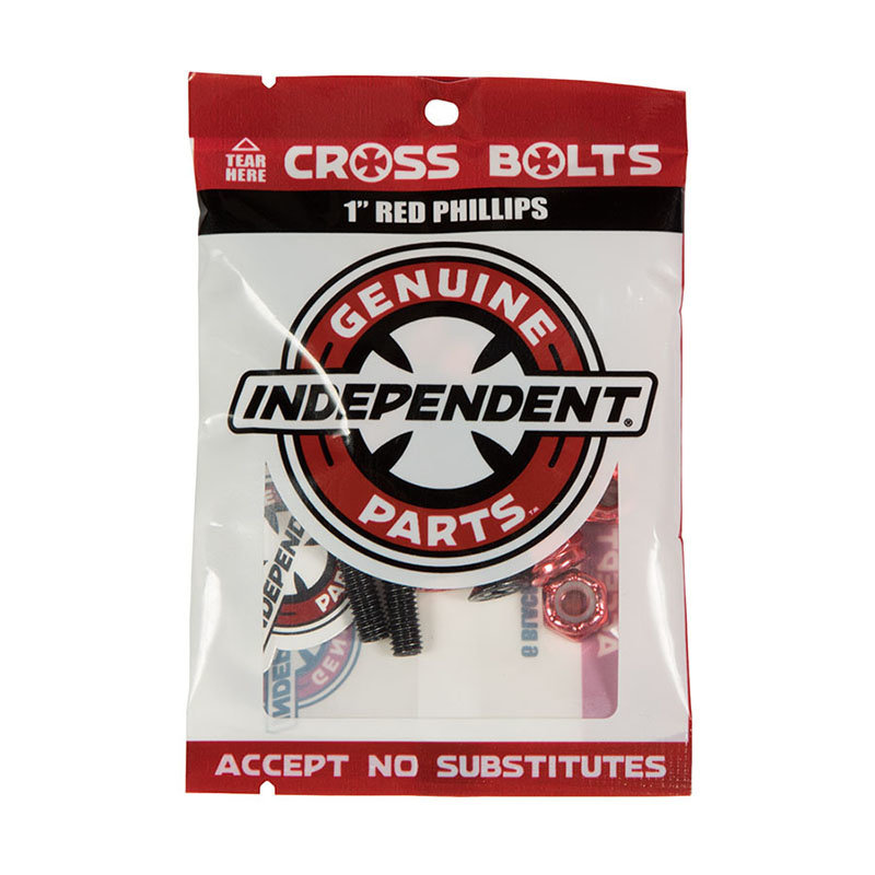 Independent INDEPENDENT HARDWARE PHILLIPS 1'' BLACK/RED