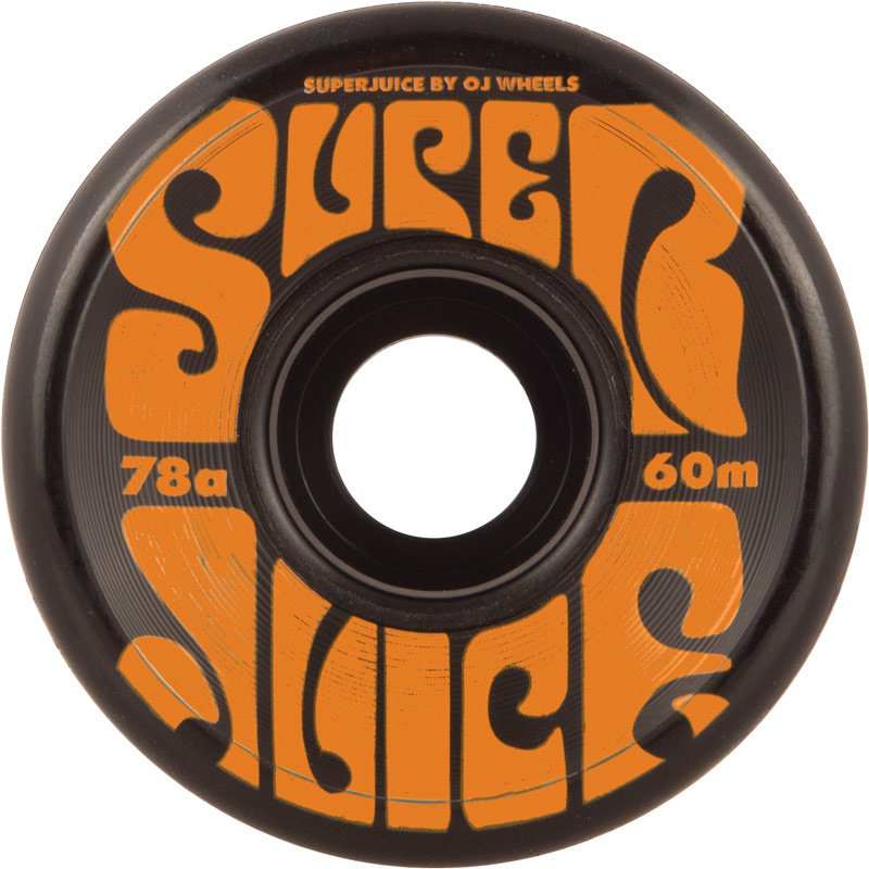 OJS OJS WHEELS MINI SUPER BLACK 78A 55MM