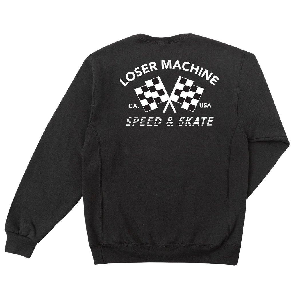 LOSER MACHINE Loser Machine DAYTONA_WICKING_CREW_FLEECE