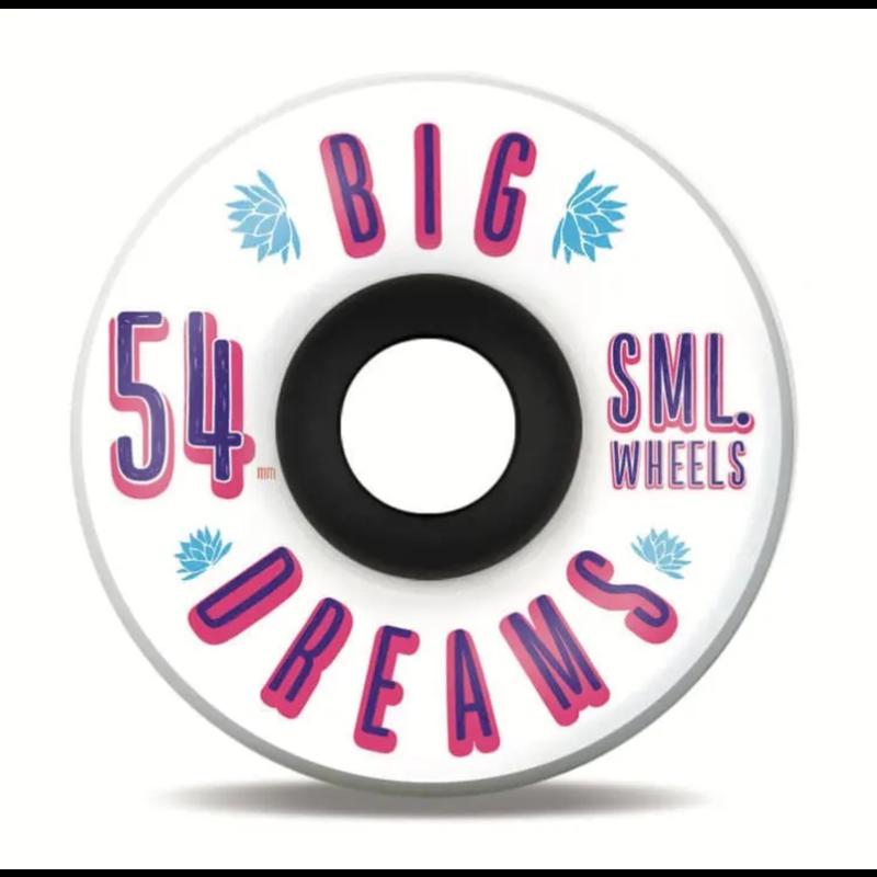 SML SML WHEELS SUCCULENT CRUISERS IRIS 92A 54MM