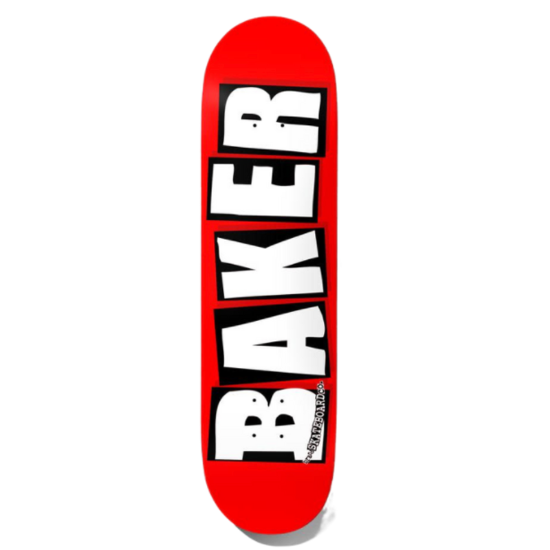 Baker Baker Brand Logo White Deck (8.25)