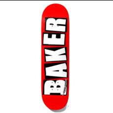 Baker Baker Brand Logo White Deck (8.5)