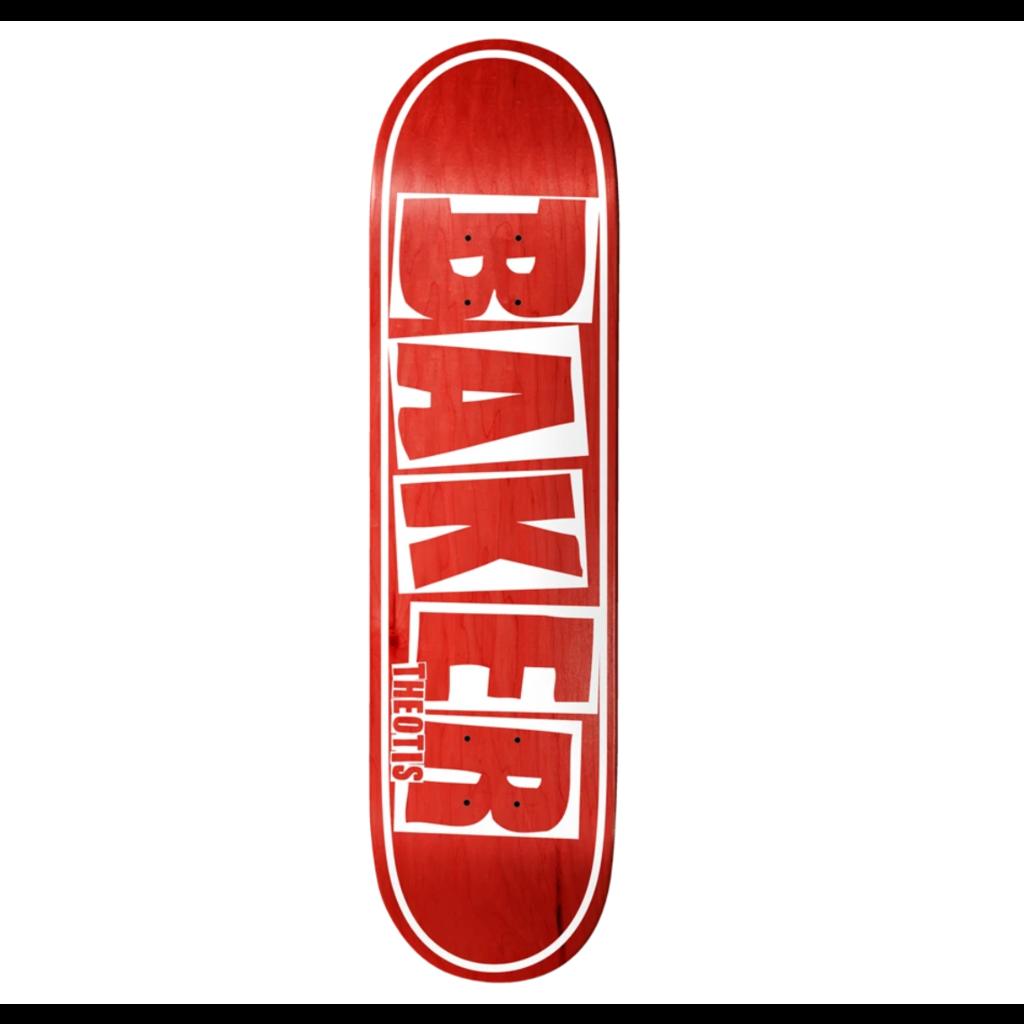 Baker Baker TB Brand Name Red Veneer Deck (8.5)