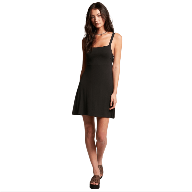 Volcom Volcom Easy Babe Dress Black