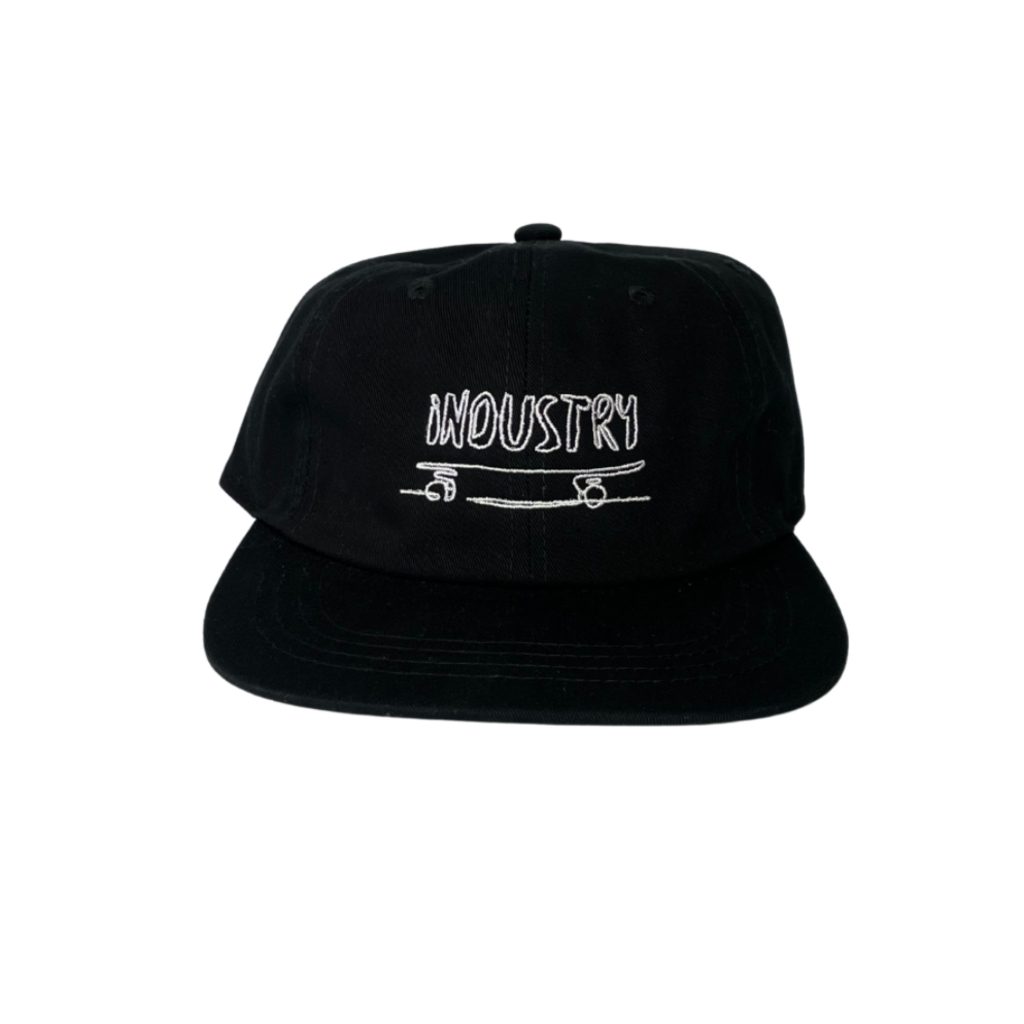 Industry Industry Sk8 Cap Black