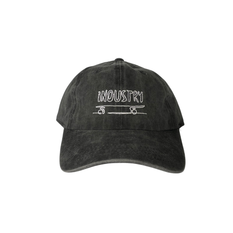 Industry Industry Sk8 Cap Washed black