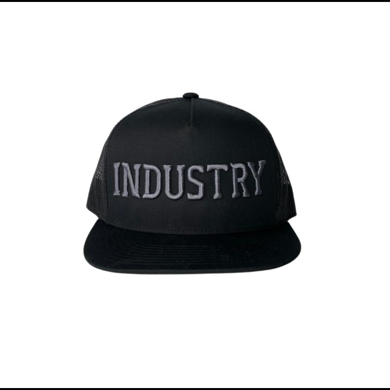 Industry Industry PUFF TRUCKER BLACK/GREY O/S
