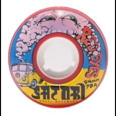 Satori Satori Wheels Goo Balls Red Eyes 78a 54mm