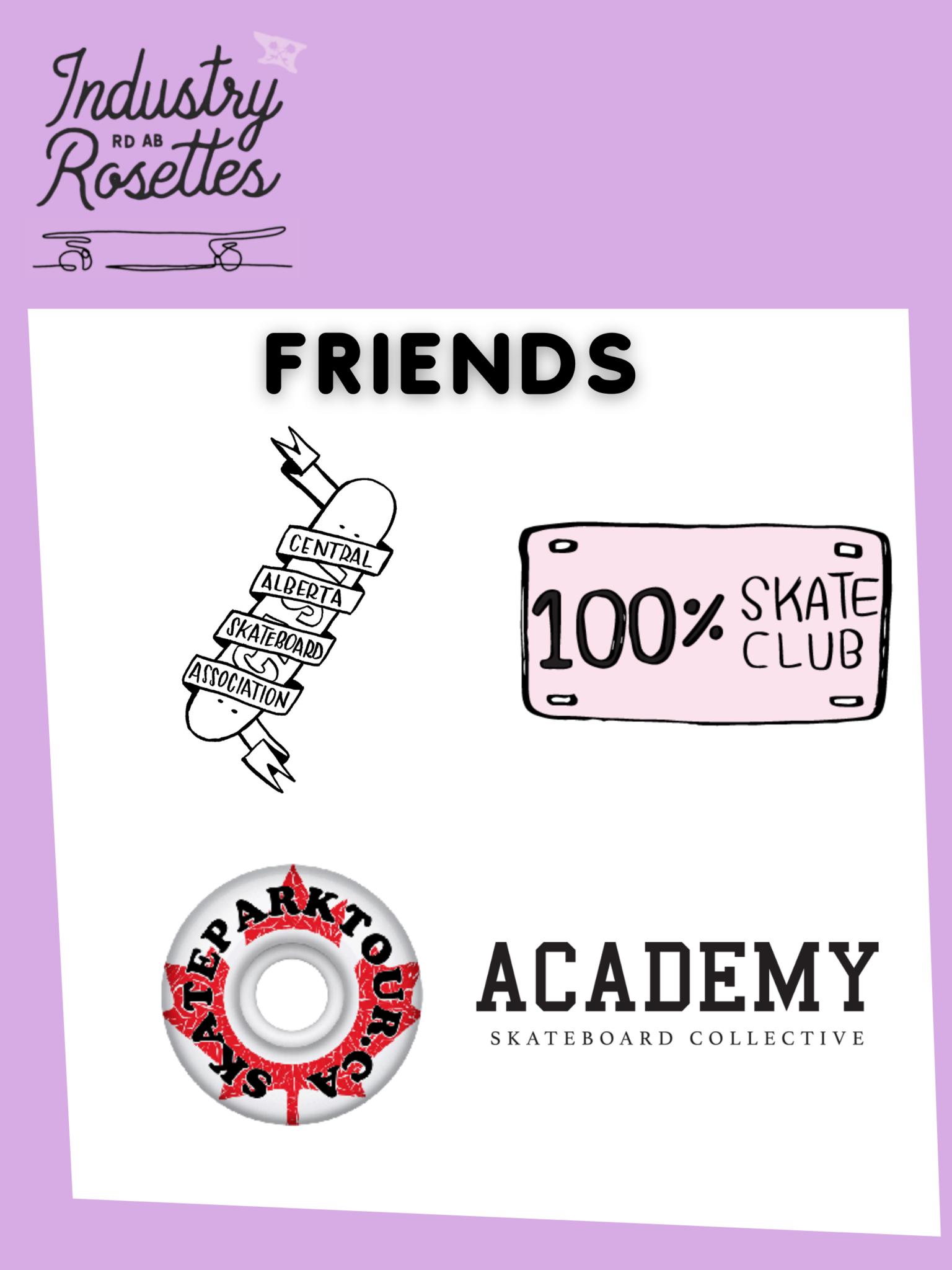 Rosettes friends