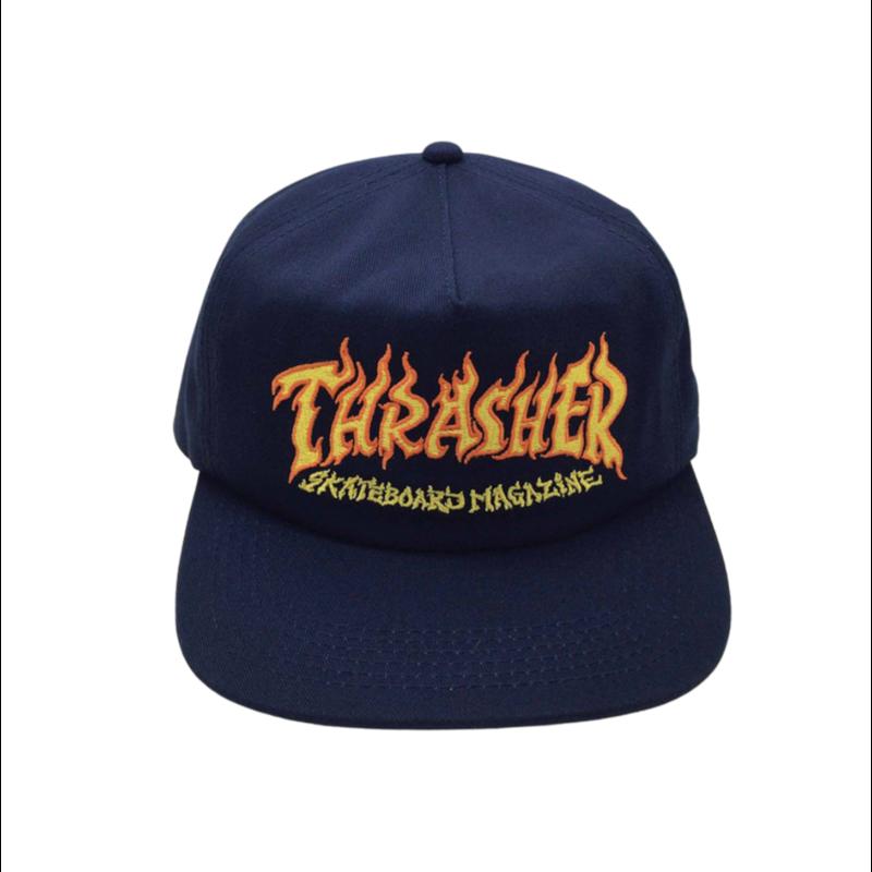 Thrasher Thrasher Fire Logo Snapback