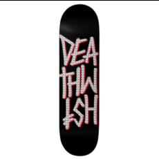Deathwish Deathwish Deathstack Black Holographic Foil Deck(8.0)