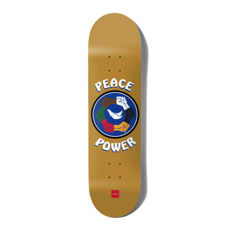 Chocolate CHOCOLATE ANDERSON PEACE POWER ONE OFF DECK 8.0