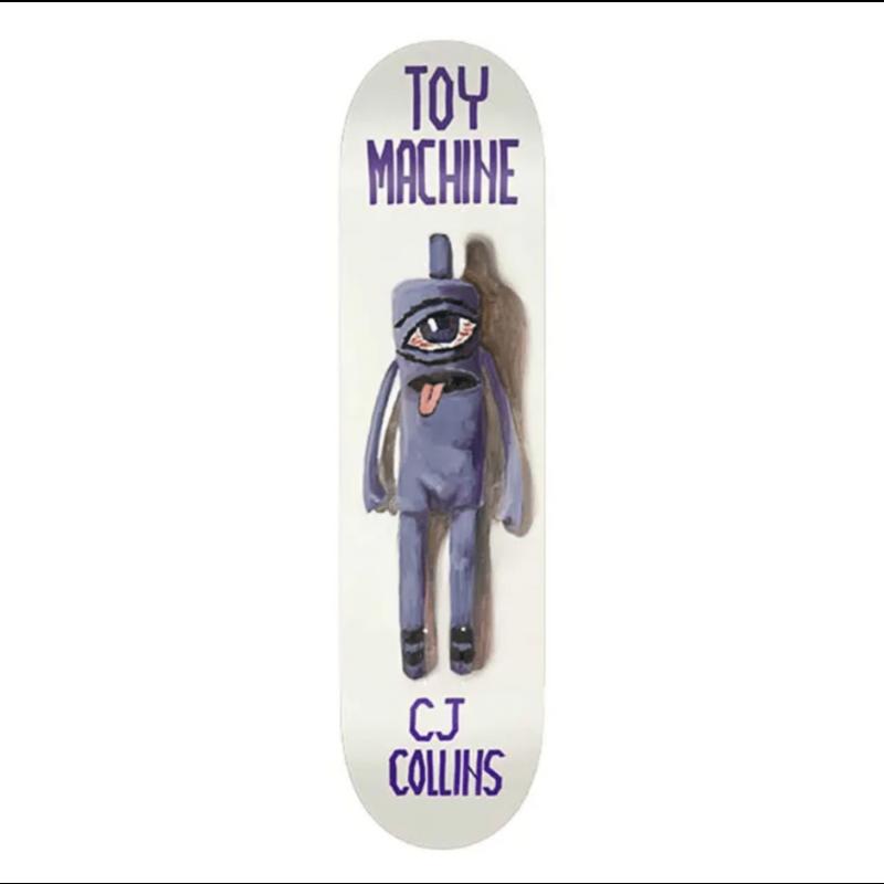Toy Machine Toy Machine DECK COLLINS DOLL 7.75