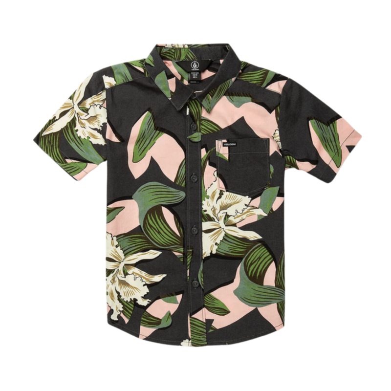 Volcom Volcom CUT OUT FLORAL S/S