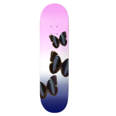 CALL ME 917 CALL ME 917 BUTTERFLY PINK SLICK DECK 8.25