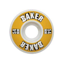 Baker BAKER LOGO YELLOW WHEEL 54MM