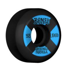 BONES BONES Price Point Wheels V5 SIDECUT 100's BLK 53MM