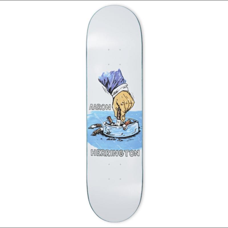 Polar Polar Deck - Aaron Herrington Chainsmoker White 8.5