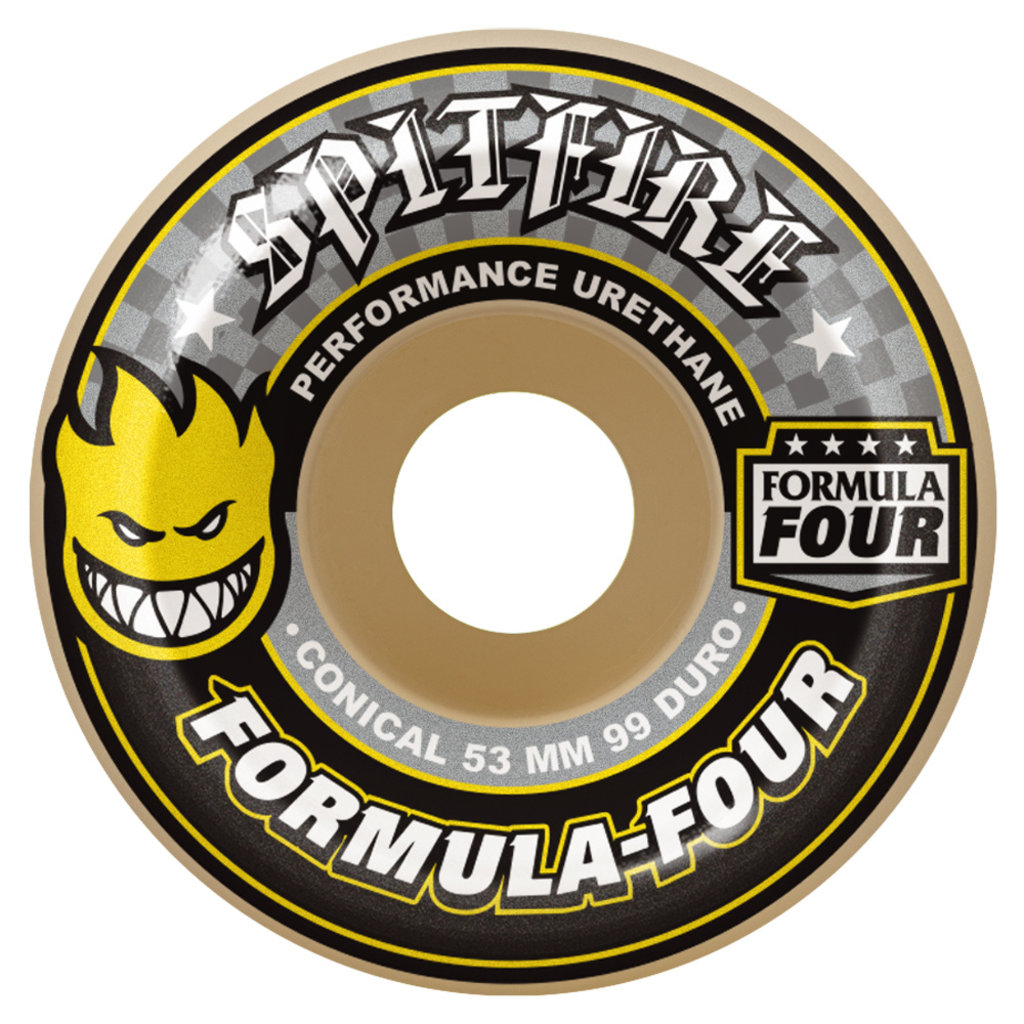 Spitfire SPITFIRE FORMULA FOUR CONICAL 99A 54MM YELLOW