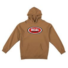 Real REAL OVAL PO HOODED SWEATSHIRT