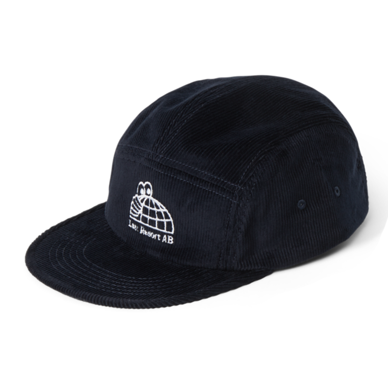 Last Restort AB Last Resort AB Hat - Half Globe Cord - Black